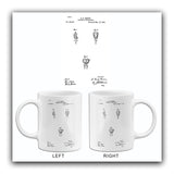 1890 - Artificial Tooth Crown - E. P. Brown - Patent Art Mug