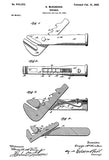 1900 - Wrench - G. McKercher - Patent Art Poster