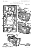 1907 - Safety Or Restraining Device - M. E. McCalmont - Patent Art Poster