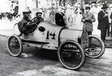 1911 Bugatti T13 With Ernst Friedrich - Promotional Photo Poster