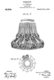 1914 - Lamp Shade - L. C. Tiffany - Patent Art Poster