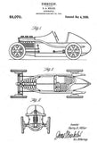 1920 - Automobile - Indy Race Car - H. A. Miller - Patent Art Mug