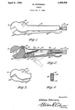 1924 - Wrench - Vice Grips - W. Petersen - Patent Art Poster