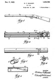 1925 - Toy Gun - W. F. Schmidt - Wyandotte - All Metal Products - Patent Art Poster
