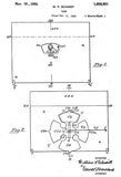1926 - Game - W. F. Schmidt - Wyandotte - All Metal Products - Patent Art Mug