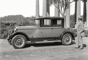 1926 Willys-Knight Great Six Four-Passenger Coupe - Promotional Photo Magnet