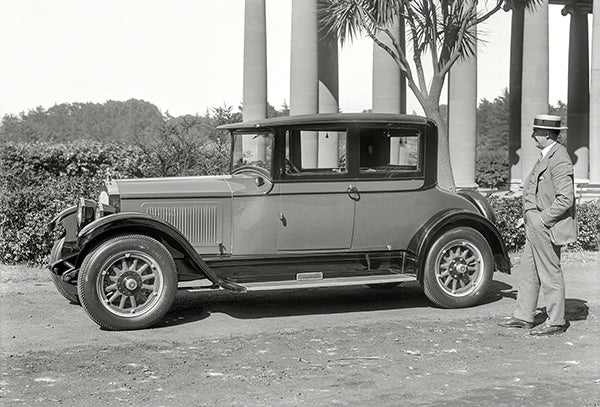 1926 Willys-Knight Great Six Four-Passenger Coupe - Promotional Photo Poster