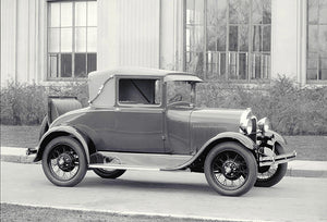 1928 Ford Model A Sport Coupe - Promotional Photo Poster