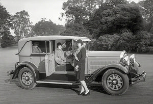 1928 Hudson Super Six Landau Sedan - Promotional Photo Poster
