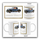 1930 Buick Business Coupe Promotional Advertising Mug