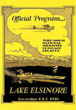 1930 - Midwinter Outboard Regatta Boat Race - Lake Elsinore - Promotional Mug
