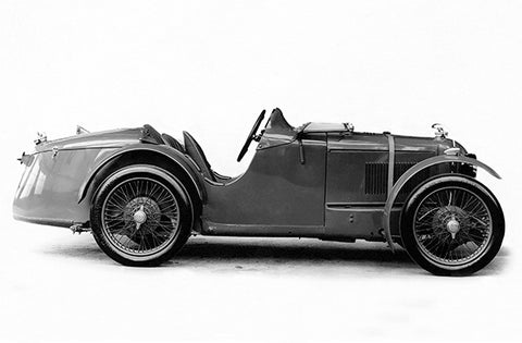 1930 MG Double Twelve - Promotional Photo Poster