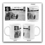 1931 Bugatti Type 51 & Fazio Nuvolari - Brooklands - Photo Mug