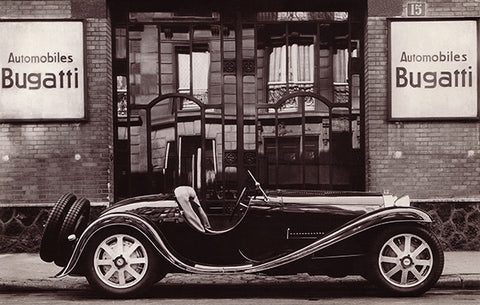 1931 Bugatti T55 Roadster - Promotional Photo Poster
