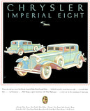 1931 Chrysler Imperial Eight Sedan - Promotional Advertising Poster