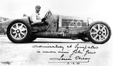 1932 Bugatti T 51 With Louis Chiron - Promotional Photo Poster