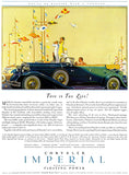 1932 Chrysler Imperial - This Is The Life - Promotional Advertising Magnet