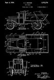 1934 - Toy Truck - A. J. Decker - Wyandotte Toys - All Metal Products - Patent Art Mug