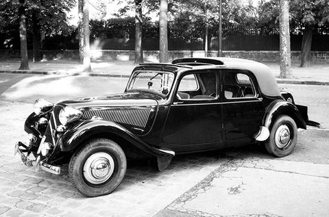 1934 Citroën Traction Avant - Promotional Photo Poster