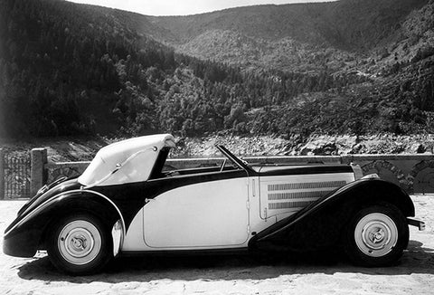 1935 Bugatti T57 Gangloff 2 Serie - Promotional Photo Poster