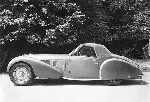 1937 Bugatti T 57 S Gangloff Cabriolet - Promotional Photo Poster