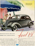 1937 Ford V-8 - Promotional Advertising Mug