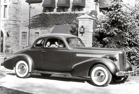 1938 Buick Century Coupe - Promotional Photo Poster