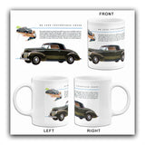 1939 Ford De Luxe Convertible Coupe - Promotional Advertising Mug
