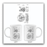 1940 - Movie Camera - T. J. Walsh - Patent Art Mug