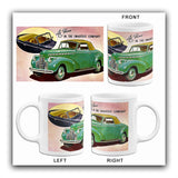 1940 Chevrolet Convertible Cabriolet - Promotional Advertising Mug