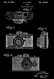 1940 - Camera - Universal Camera Corporation - O. K. Cazin - Patent Art Poster