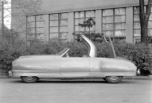 1940 Chrysler Thunderbolt Le Baron Concept Car - Promotional Photo Poster