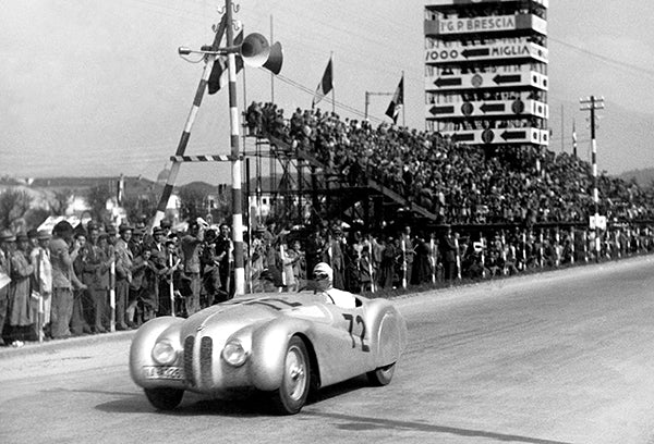 1940 Mille Miglia Grand Prix - BMW 328 Mille Miglia Roadster - Photo Poster