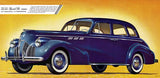 1940 Pontiac Four-Door Touring Sedan - Promotional Advertising Mug