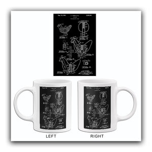 1941 - Toy Hen - J. J. Gora - Wyandotte Toys - All Metal Products - Patent Art Mug