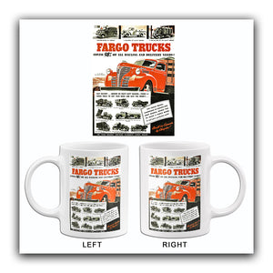 1941 Fargo Trucks - Promotional Advertising Mug