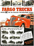 1941 Fargo Trucks - Promotional Advertising Poster