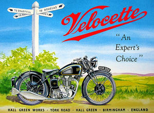 1947 Velocette KSS 350 - Promotional Advertising Magnet