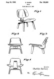 1948 - Chair - C. Eames - Patent Art Mug