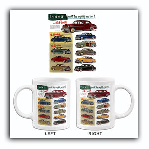 1949 Dodge Line - UK - Promotional Advertising Mug