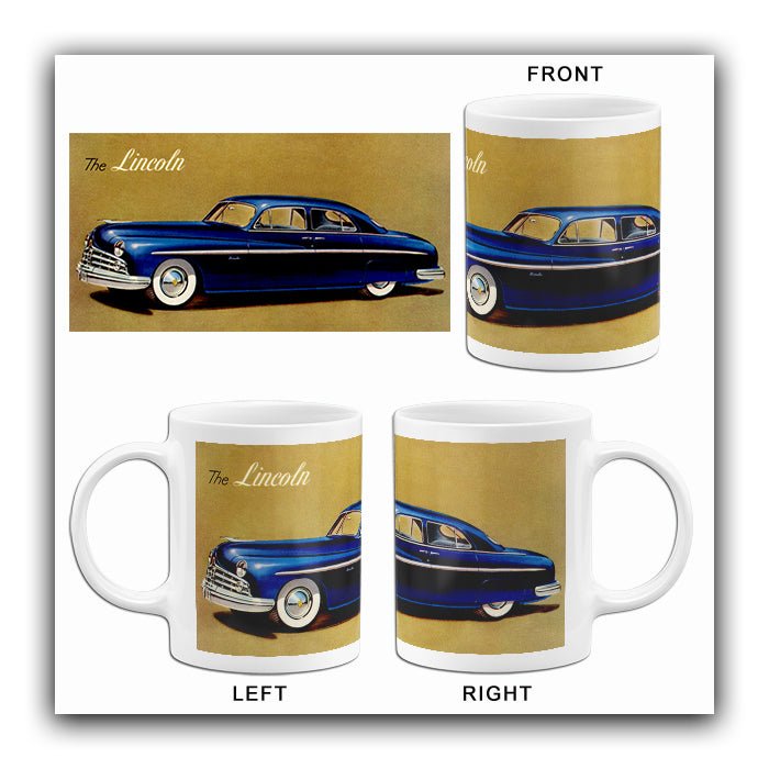 1949 Lincoln - Promotional Advertising Mug