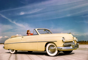 1949 Mercury Eight Convertible Coupe - Promotional Photo Magnet