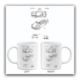 1950 - Automobile - F. Grafton - Patent Art Mug