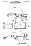 1950 - Combined Toy Wagon and Trailer - M. W. La Fever, Jr. - Patent Art Mug