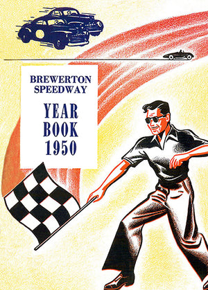 1950 Brewerton Speedway - New York - Year Book Cover Poster