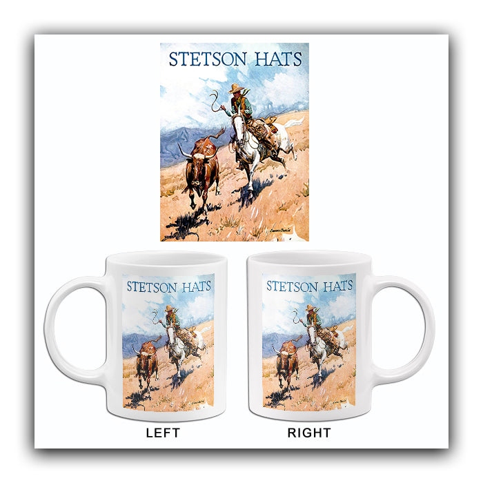 1950's Stetson Hats - Promotional Advertising Mug
