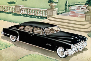 1951 Chrysler Crown Imperial Eight Passenger Sedan - Promotional Advertising Poster