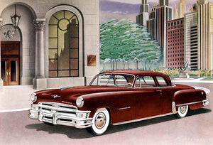 1951 Chrysler Imperial Club Coupe - Promotional Advertising Poster