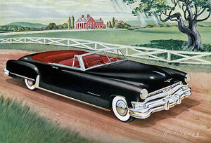 1951 Chrysler Imperial Convertible - Promotional Advertising Poster