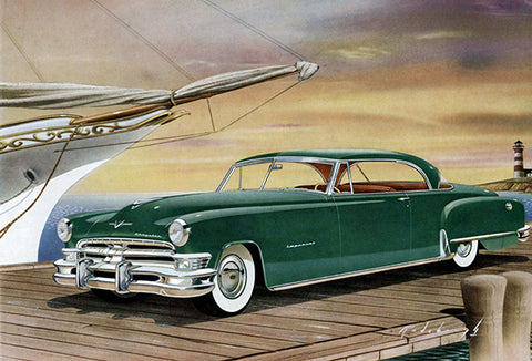 1951 Chrysler Imperial Newport - Promotional Advertising Poster